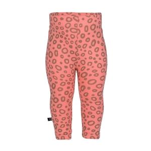 Κορίτσι | παντελόνια / κολάν | Κολάν ροζ με τύπωμα all over leopard