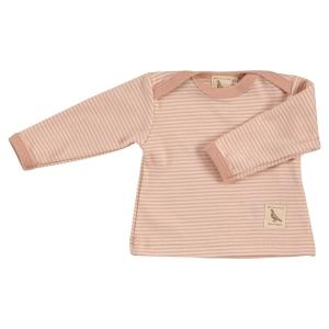 Βρέφος | μπλούζες / πουκάμισα | Μακρυμάνικο μπλουζάκι με ρίγες ροζ