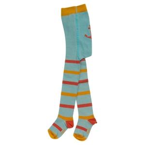 Κορίτσι | κάλτσες / καλσόν | Γαλάζιο καλσόν με ρίγες