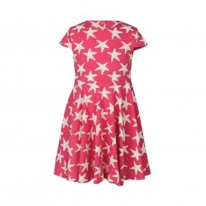 φόρεμα κλος με αστερίες από οργανικό βαμβάκι Frugi