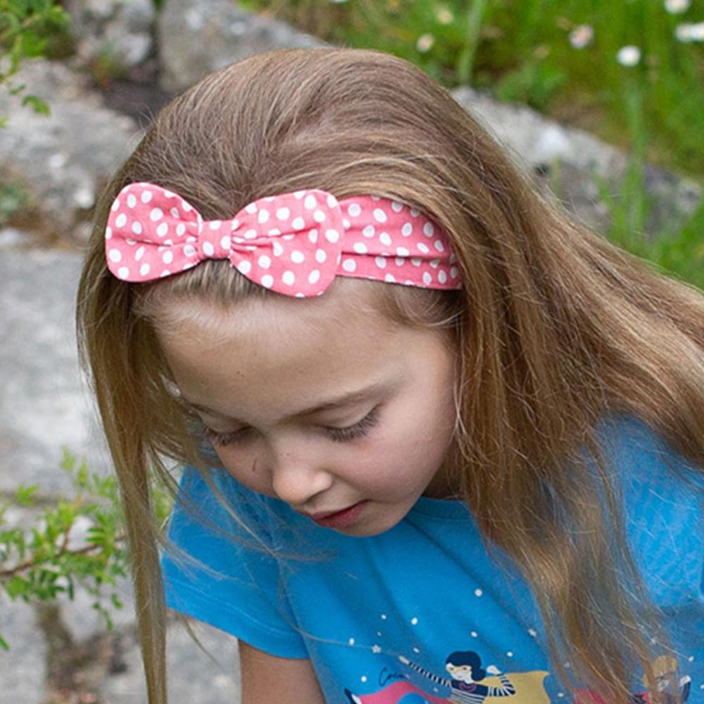 Παιδική κορδέλα για τα μαλλιά από οργανικό βαμβάκι a962aa120b7