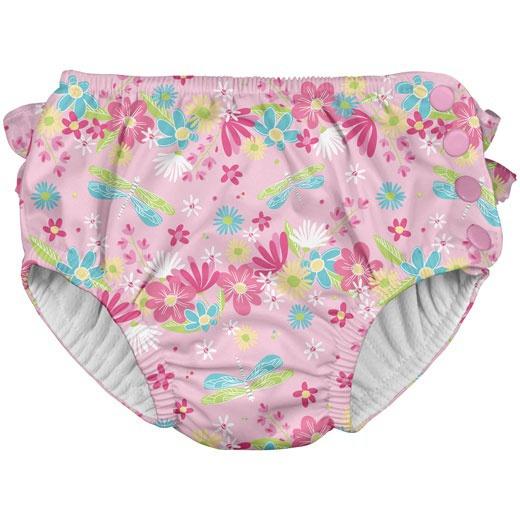 8fee713a7dd Βρεφικό μαγιό-πάνα για κορίτσι Pink Dragonfly Floral